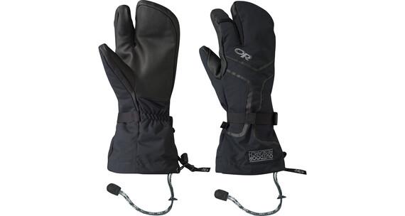 Outdoor Research Highcamp Handschoenen Heren 3-vingers zwart